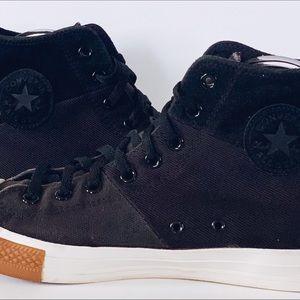 CONVERSE CT TRI PANEL HI 144652F Shoes 11 Black
